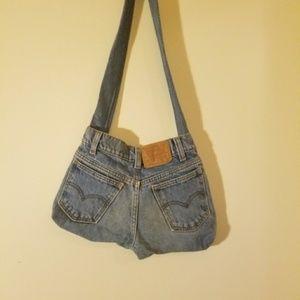 Handmade Levi's Denim Purse / Bag
